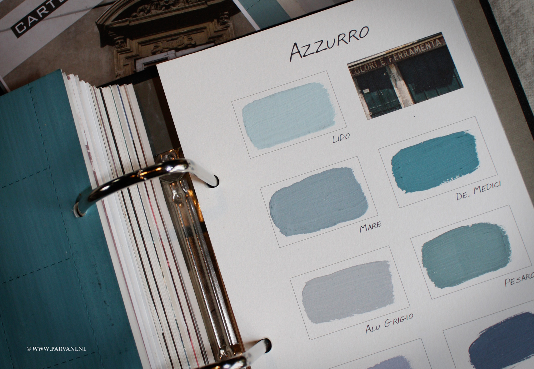 Kleuren-Carte-Colori-Azzurro