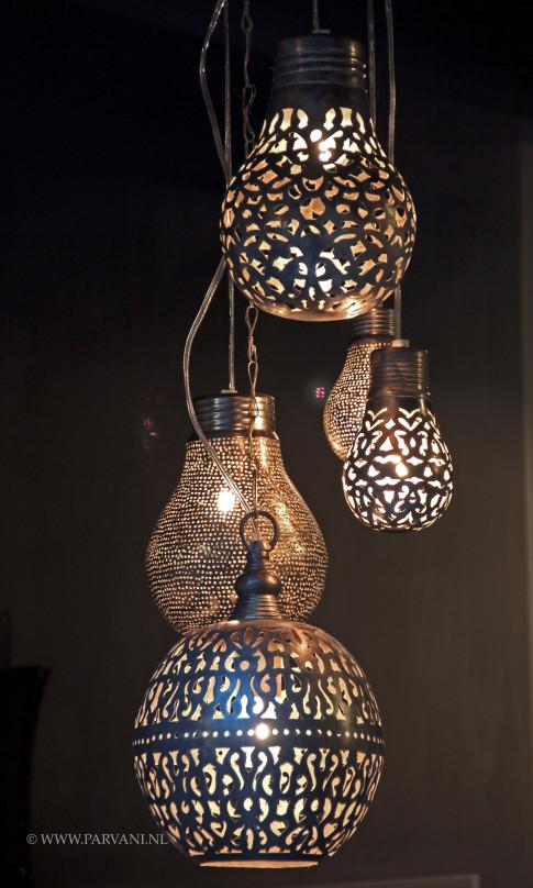 mooie hanglamp bollen silvijn hanglamp glazen kap bol